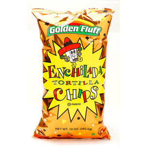 Paskesz Golden Fluff Enchilada Tortilla Chips Large 283.5gr