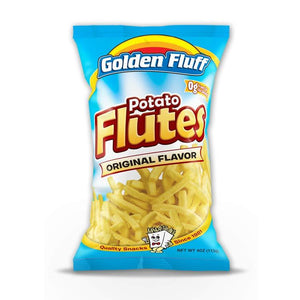 Paskesz Golden Fluff Potato Flutes Large 113Gr