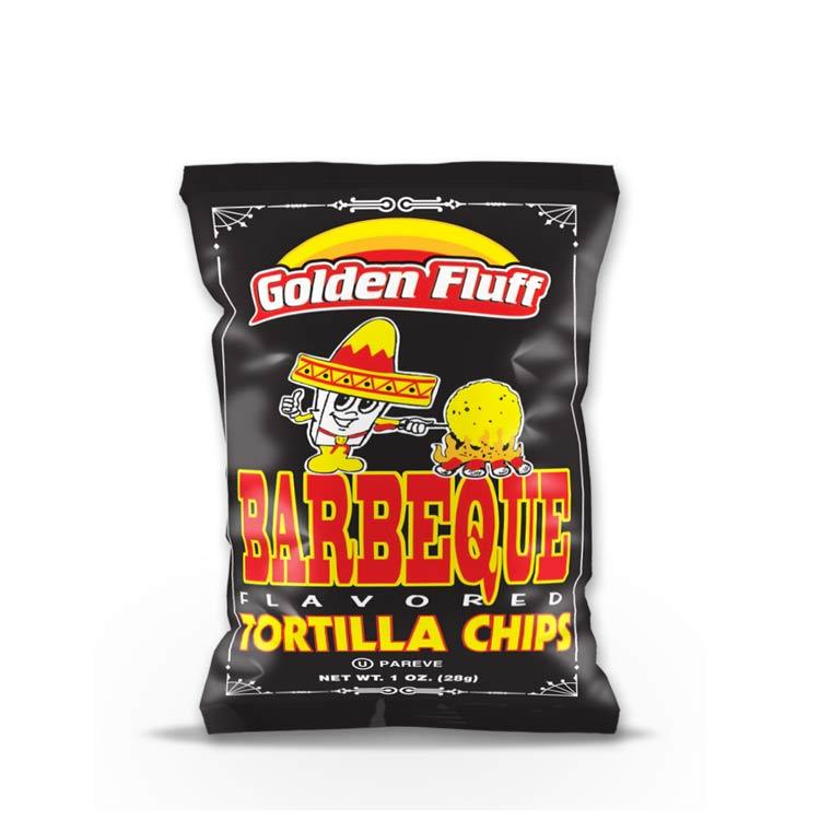 Paskesz Golden Fluff Tortilla Chips Bbq Small 29Gr