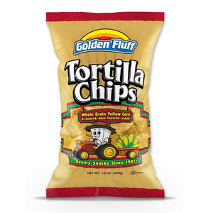 Paskesz Golden Fluff Tortilla Chips Large 340Gr