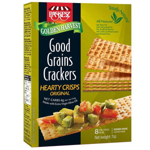 Paskesz Good Grain Crackers Hearty Crisps Original 207Gr