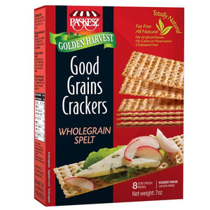 Paskesz Good Grain Crackers Whole Grain Spelt 207Gr