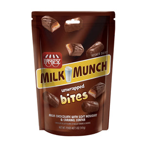 Paskesz Milk Munch Unwrapped Bites Bag 141gr