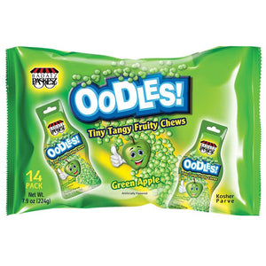 Paskesz Oodles Green Apple 14 Pack 224G