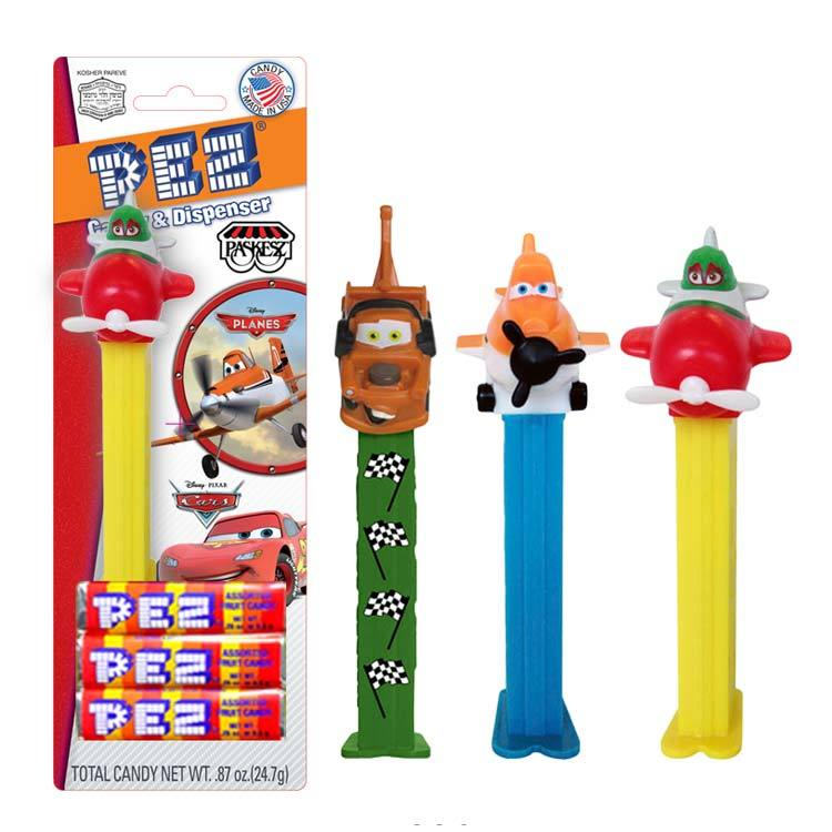 Paskesz Pez Dispenser Cars 25Gr