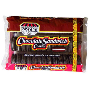 Paskesz Sandwich Cookies Chocolate 453Gr