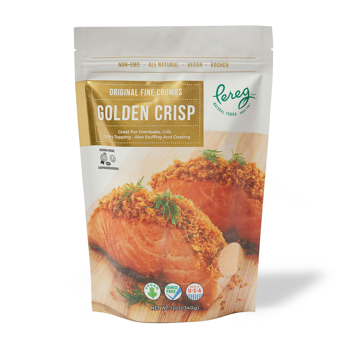 Pereg Original Golden Breadcrumbs 340Gr