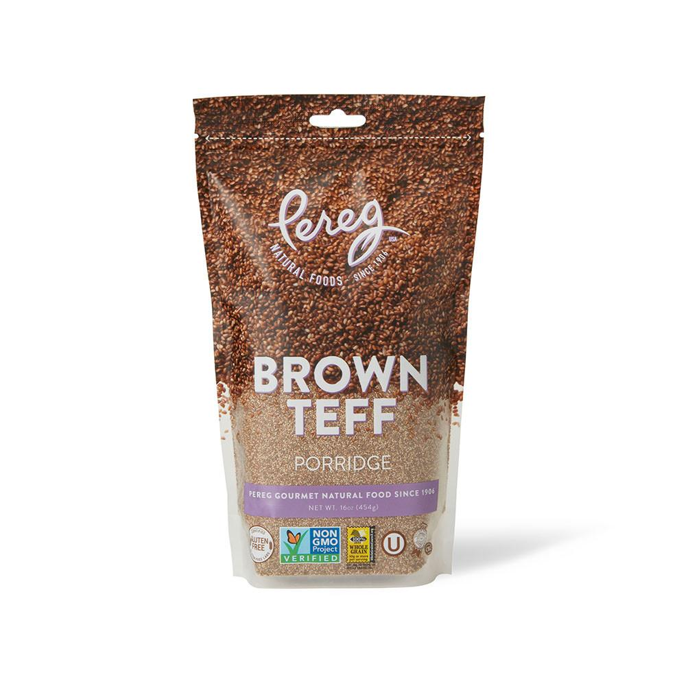 Pereg Teff Brown Porridge Bag 454gr