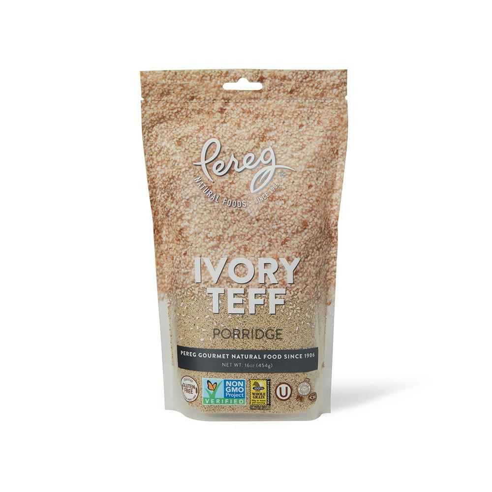 Pereg Teff White Ivory Porridge Bag 454gr