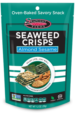 Sea Point Farms Seaweed Crisps Almond Sesame 35g