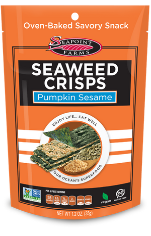 Sea Point Farms Seaweed Crisps Pumpkin Sesame 35g