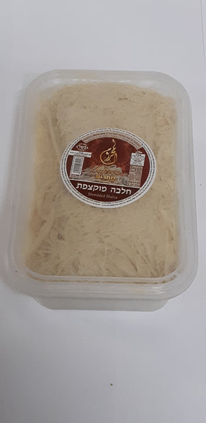 Mahroum Sweets Shredded Halva Vanilla Rectangle Container 500Gr