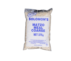 Solomon Matza Meal Course 375Gr