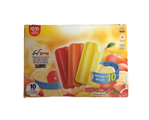 Strauss 10 Light Mango Lemon/Red Grapefruit Icypoles 700G