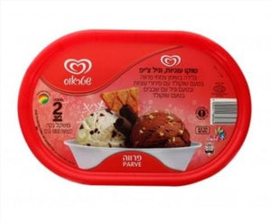 Strauss 2 Clr Choc Cookie/Vanilla Icecream 2L