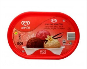 Strauss 3 Clr Choc/Van/Strawb Icecream 2L