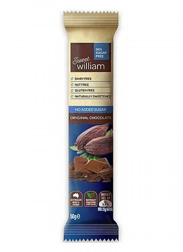 Sweet William No Added Sugar Original 50Gr