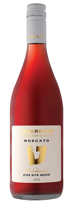 Teperberg Moscato Red 750Ml