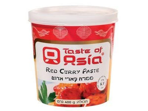 Taste Of Asia Curry Paste Red 400Gr