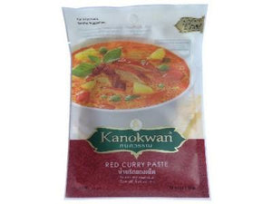Taste Of Asia Kanokwan Red Curry Paste Sachet 50Gr