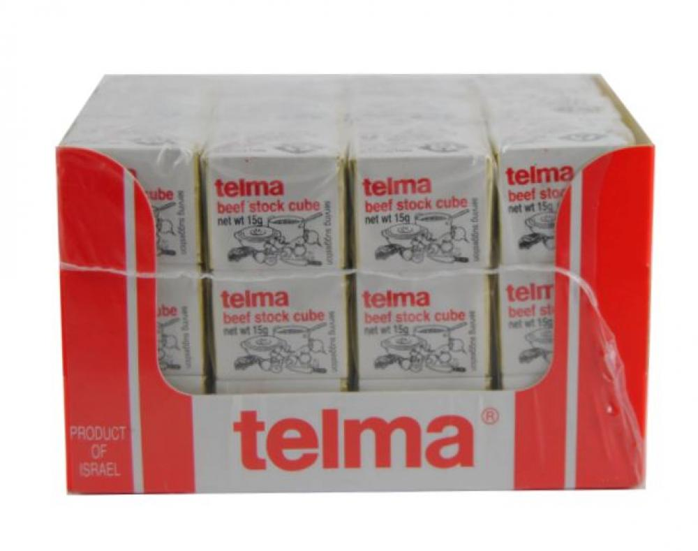 Telma Beef Flavour Stock Cube 3x15g KLP