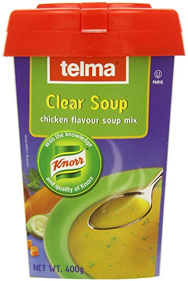 Telma Clear Soup Mix Chicken Flavour Tub 400g KLP