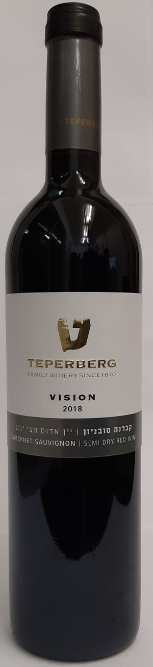 Teperberg Vision Semi Dry Red 750Ml