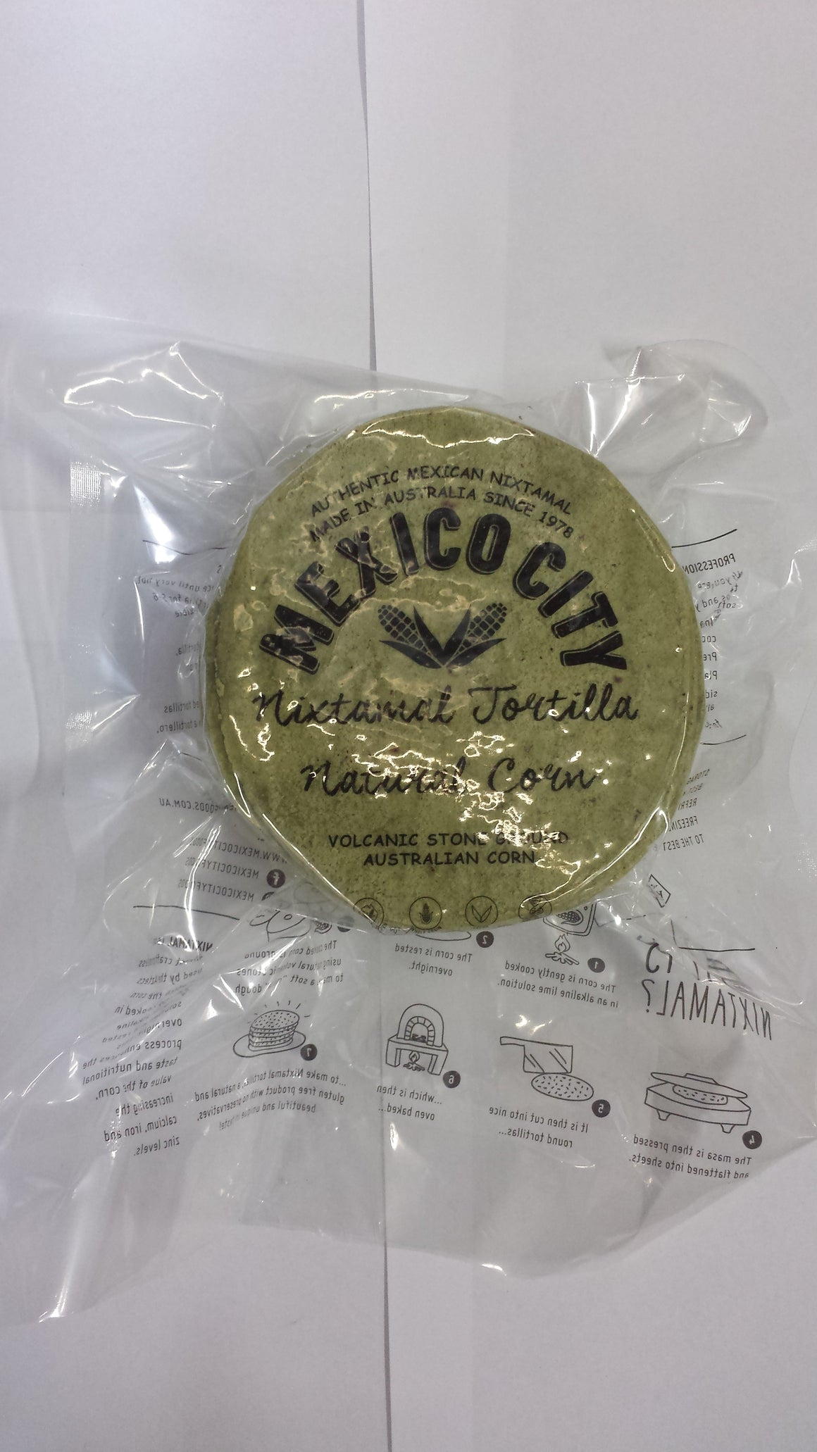 Mexico City Foods Tortillas Green Jalapenos 5 Inch - 36 Piece