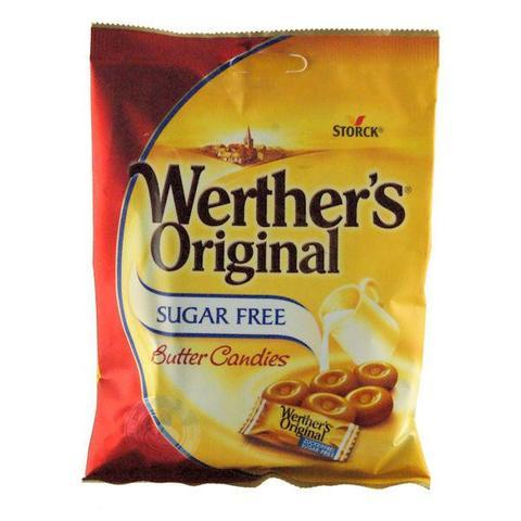 Werthers Original Butter Sugar Free 80G