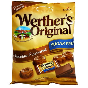 Werthers Original Chocolate Sugar Free 70Gr