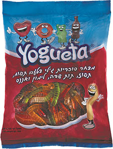 Yogueta Gummy Worms Bag 800gr