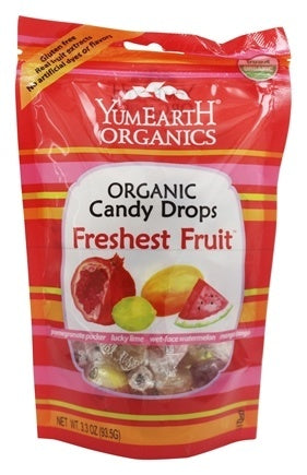 Yum Earth Organic Assorted Fruit Drops 93.5g