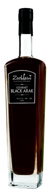 Zachlawi Gourmet Black Arak 750ml 80 Proof