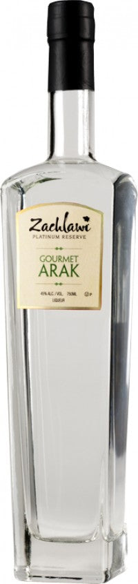 Zachlawi Gourmet Traditional Arak 750ml 80 Proof