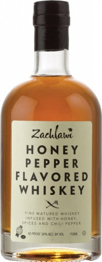 Zachlawi Honey Pepper Flavoured Whiskey 750ml 60 Proof