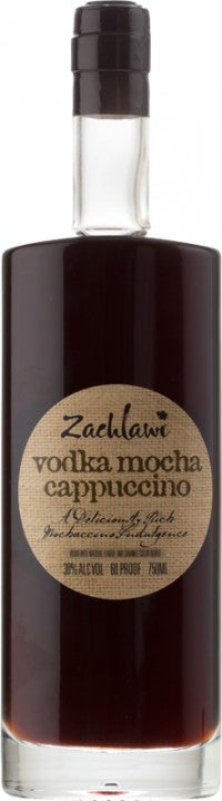 Zachlawi Mocha Cappuccino Vodka 750ml 60 Proof
