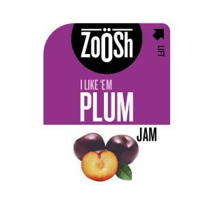 Zoosh Jam Portions Plum 300Ct