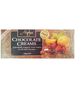 Alpha Chocolate Creams Gift Box 250Gr
