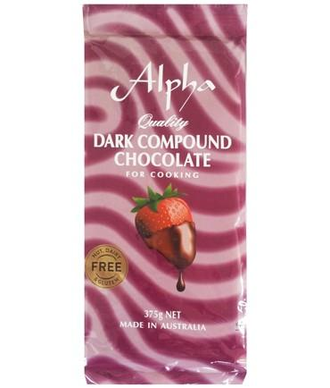Alpha Chocolate Cooking 375G