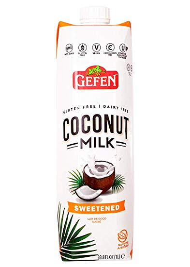 Gefen Coconut Milk Sweetened KLP 1lt