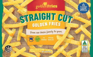 Golden Fries Straight Cut 1kg