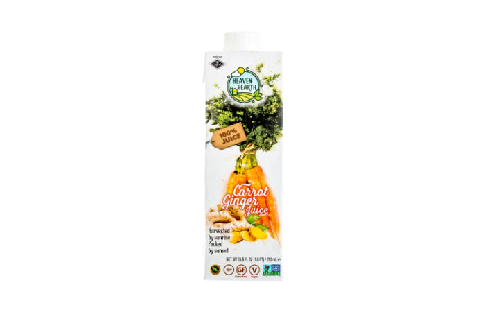 Heaven & Earth Carrot & Ginger Juice 750ml