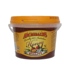 Archibald's Honey Quality Flavour 1Kg Bucket