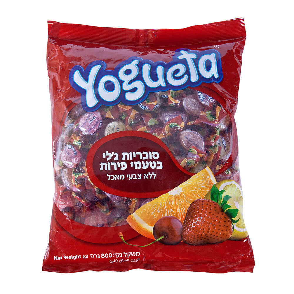 Yogueta Jelly Fruit Bag 800gr
