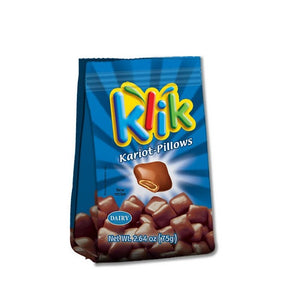 Klik Chocolate Bags Kariot Pillows 75g