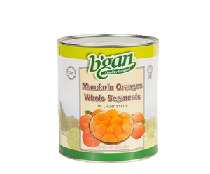 Eden Bulk Mandarine Whole Segments 3Kg (A10)