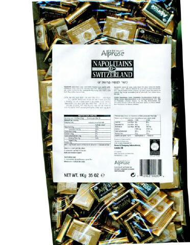 Alprose Swiss Napolitains Dark 1Kg