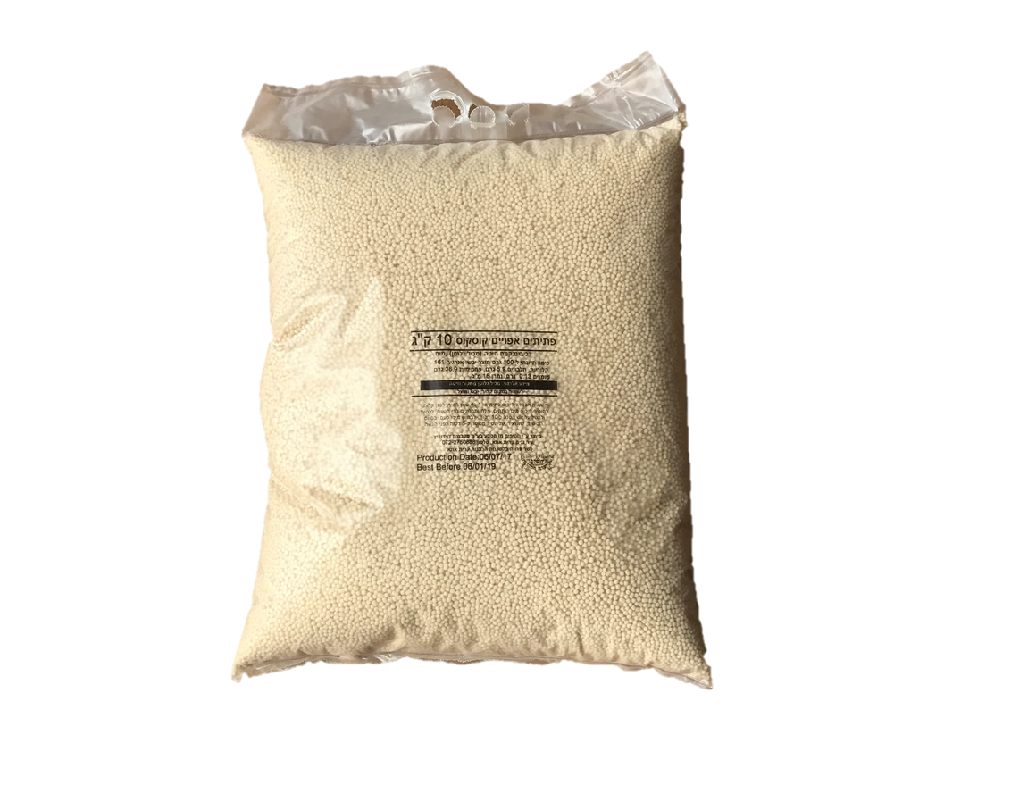 Nature's Snacks Toasted Pasta Couscous 10Kg