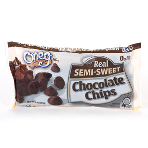 Oneg Chocolate Chips Semi Sweet 254G