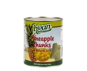 Eden Bulk Pineapple Chunks 3Kg (A10)